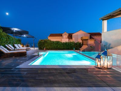 Photo for Charming Stone Villa *Penthouse* with  the Private Swimming Pool And a Sea View