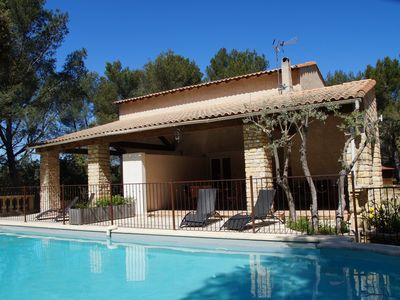 Photo for Villa Provence 5 pers - Pool - Tennis - Bowls