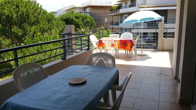 Photo for Calvi T4 recent residence 95m2 with swimming pool- Beach and shops at 400m