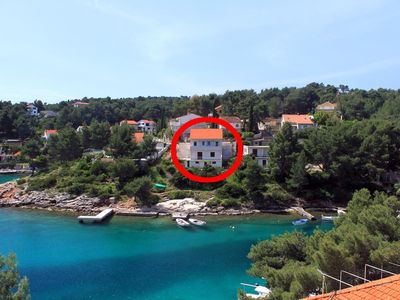 Photo for Apartment in Basina (Hvar), capacity 2+1