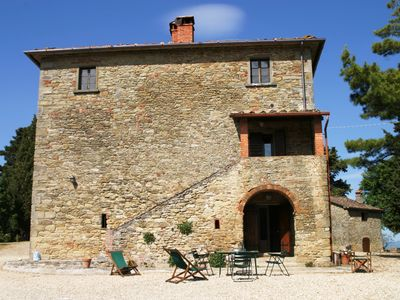 Photo for Arco, Charming just renovated apt x4p in Tuscany w shared pool