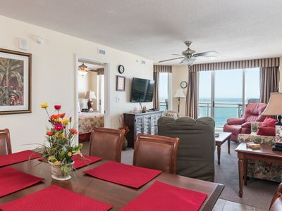 Photo for Bahama Sands -  607 Spacious 3 Bedroom, 3 Bath Oceanfront Unit.