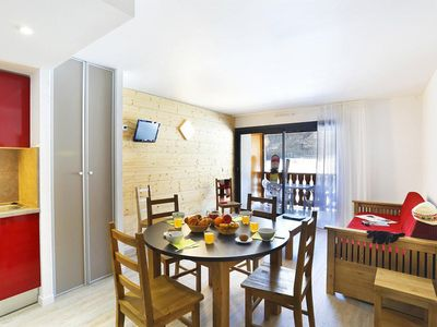 Photo for Wifi, fitness, swimming pool, fireplace or stove, parking, tv, 25m², Peyragudes