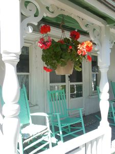 A rocking chair is waiting for you!