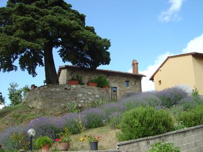 Photo for Agriturism Giratola, old burg at the heart of the Mugello, panoramic view