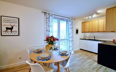 Photo for A modern apartment in the center of Kolberg. New building.