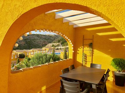 Photo for FANTASTIC ATTIC WITH VIEWS TO THE MORAIRA VALLEY