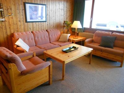 Photo for 2*, 2-bedroom-apartment for 6 people located next to the cable car. Bright living room with TV. Kitc