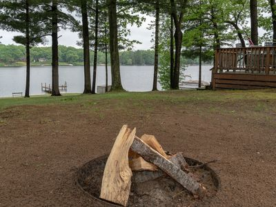 Photo for Long Lake Cottage: 2 BR cottage with private dock and frontage! (Sleeps 8)