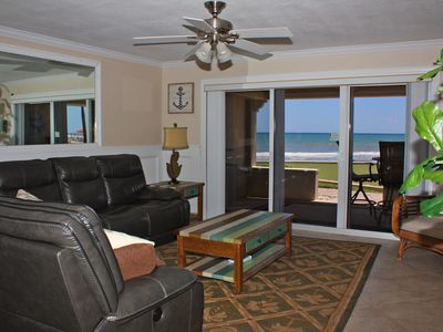 Photo for Steps from the oceanfront putting green in this unique three bedroom, three bath ground floor condo!