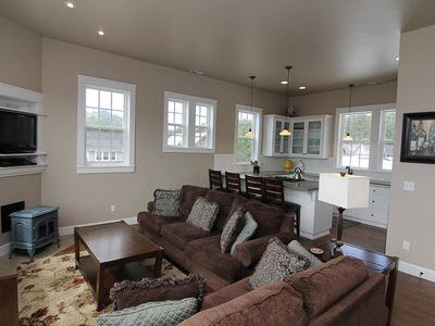 Photo for Carabel -Spacious/Beautiful New Hm w/Ocean Vws, Hot Tub Located in Roads End.