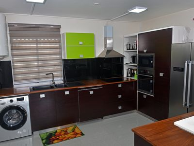 Photo for Air-conditioned apartment 700 meters from the beach.