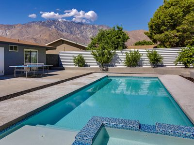 Photo for Palm Springs Life - Epic Backyard, Pool and Spa