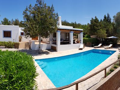 Photo for Nice house in Ibiza in natural environment, WIFI, bbc, swimming pool, eco-friendly