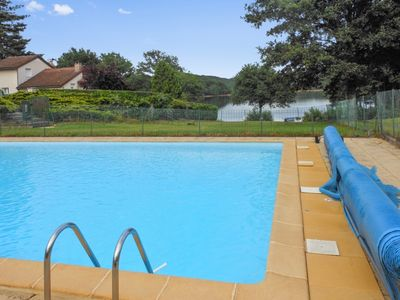 Photo for Nice chalet with pool access
