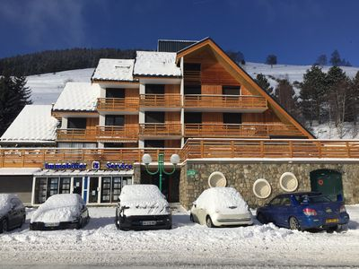 Photo for Luxurious studio, center of the resort, comfortable, quiet, wifi, ski school 100 meters