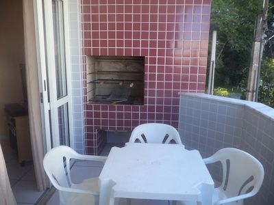 Photo for New two bedroom apartment with barbecue and internet / Grande-Ubatuba Beach