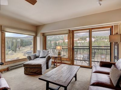Photo for Premier Slopeside Apartment | Fireplace + Hot Tub Access