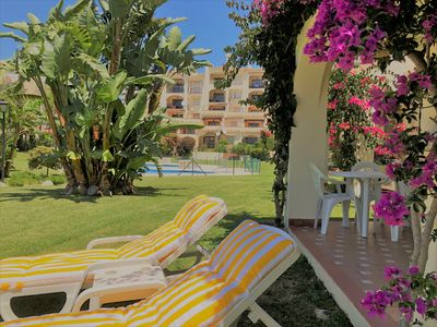 Photo for Very cozy and beautiful apartment with 2 bedrooms 400m from the beach in Mijas Costa