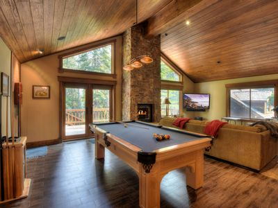 Photo for Expansive and Bright Tahoe Donner Home with Hot Tub