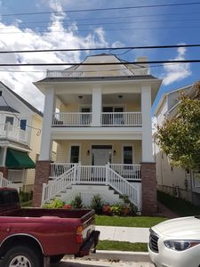 Photo for BRAND NEW! Northend, steps to beach - big porch & offstreet parking!!