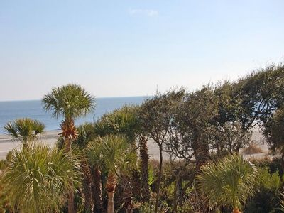 Photo for Villamare Oceanfront Condo-See How Close We Are to the Beach!