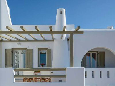 Photo for Gialos , a beautiful  property , 2 bedrooms , can accomodate up to 6 people