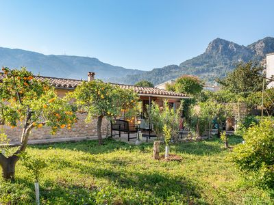 Photo for Picturesque Holiday Home with Wi-Fi, Air Conditioning, Terraces and Garden with Orchard