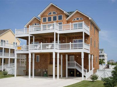 Photo for Divine Sunsets! Semi-Soundfront-Pool, Hot Tub, Elevator, Game Rm, Dog-Friendly,