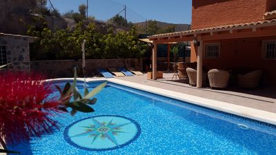Photo for LUXURY VILLA IN THE CAMPELLO, POOL, JACUZZI, BEACH AND SEA, SAUNA