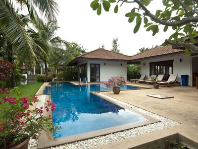 Photo for Private pool 4bed villa in Surin (SSE 6)