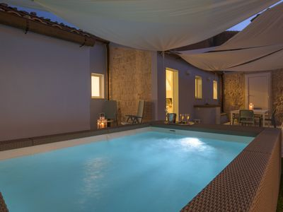 Photo for Tannura, new apartment with wide Jacuzzi, 50 m from the sea
