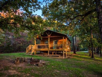 Photo for Buck Cabin is a Fully Furnished Lake Side Cabin on Rend Lake Comfortable for all
