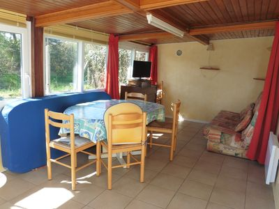 Photo for renting a bungalow of 30m ² on private ground with veranda
