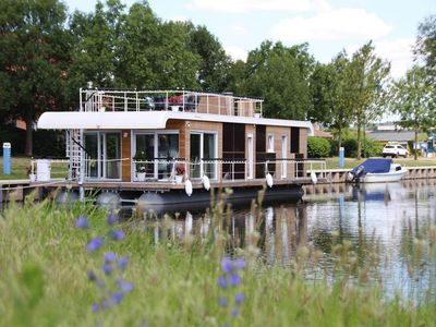 Photo for Houseboat auf der Peene, Malchin