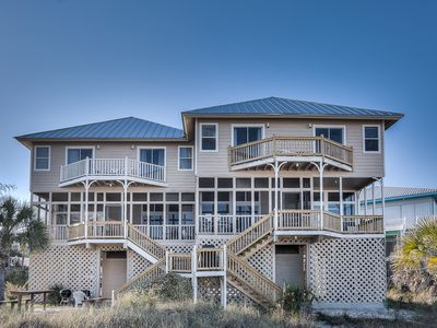 Photo for Beautiful Gulf Front on 30-A in Grayton/Gulf Trace:  4 Bedrooms / 4 Baths
