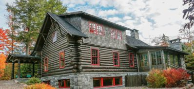 Photo for A charming four season residence on the shores of Lake Placid.