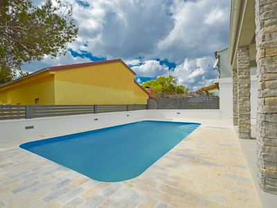 Photo for This 3-bedroom villa for up to 9 guests is located in Starigrad Paklenica and has a private swimming