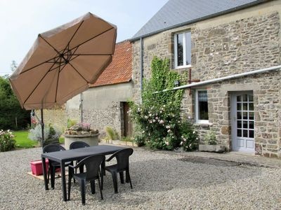 Photo for Vacation home Entre mer et campagne 2 (LMX403) in Le Mesnil - 6 persons, 3 bedrooms