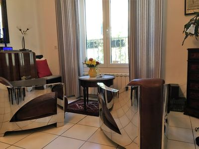 Photo for Sophisticated Apartment with Large Sunny Terrace in Center of Village