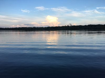 Photo for Spacious waterfront home, near Interlochen, fireplaces, air conditioning