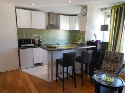 Photo for STUDIO GARE ***, 40m2, QUIET, BRAND NEW, HIGH FLOOR, MAGNIFICENT VIEW