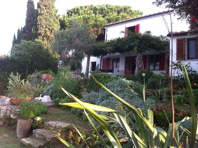 Photo for Holiday home with a view of the sea, terrace and flower garden