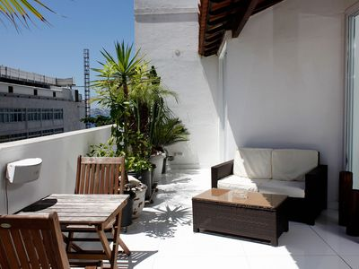 Photo for Rio068 - Penthouse located just 30 meters from Ipanema Beach