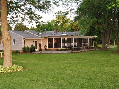 Photo for Charming Waterfront Cottage Outside St. Michaels Close to the Oaks