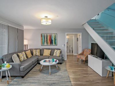 Photo for All New 3 Bedroom, 2 Bath Condo. Water Views, Modern, Contemporary In Downtown