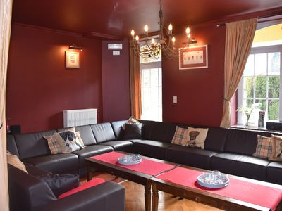 Photo for Villa 11 bedrooms 800 meters from the Circuit de Spa-Francorchamps