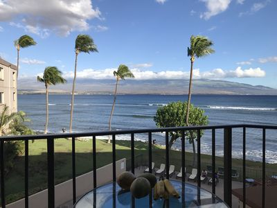 Photo for Savings! Prime Ocean Front! A/C in each bedroom (sleep comfortable)
