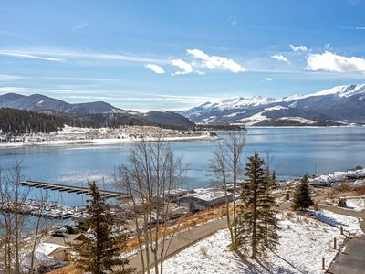 Photo for New Listing! Overlooks Lake And Marina With Amazing Mountain Views. King Size Master / Hot Tub