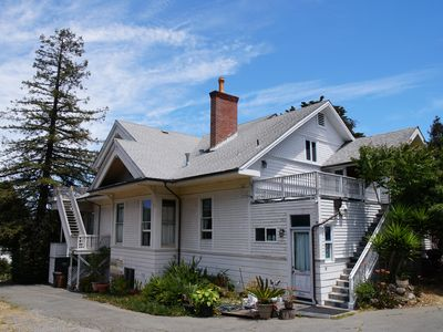 Photo for Edwardian Mansion with SF Bay View